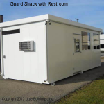 Little Buildings, Inc. - Guard House Restroom 9' x 6 x 22'