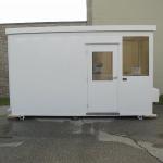 Little Buildings, Inc. - Guard House With Toilet 6 x 14 Little Building