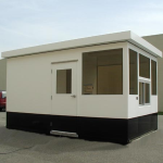 Little Buildings, Inc. - Guardhouse With Restroom 9' x 15' With ADA Compliant Restroom