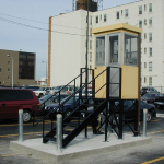 Little Buildings, Inc. - Guardhouse 3' x 4' Stand Mounted