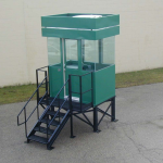 Little Buildings, Inc. - Guardhouse Stand Mounted #46P2S