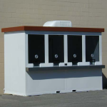 Little Buildings, Inc. - Portable Ticket Booth 5' x 12'