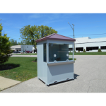 Little Buildings, Inc. - Ticket Booth 2 Window/Portable Box Office 5'X6'