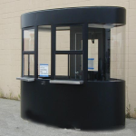 Little Buildings, Inc. - Ticket Booth 5'x10' Ovalz - Top Of The Line!