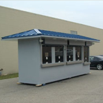 Little Buildings, Inc. - Ticket Booth 5' x 20'