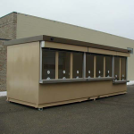 Little Buildings, Inc. - Ticket Booth 8-Window by Little Buildings 8'x24'