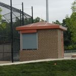 Little Buildings, Inc. - Press Box Preassembled 8'X12'