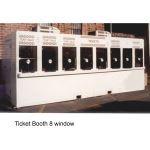 Little Buildings, Inc. - Ticket Booth 8 Window 824TKT-TX