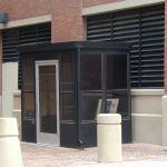 Little Buildings, Inc. - Bus Stop with Door 6 X 8