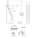 Alaco Ladder Company - M75 – 75° Ships Ladder (Max 17')