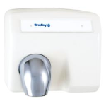 Bradley Corporation - 2903-28 Aerix Sensor-Operated Hand Dryer - White