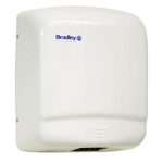 Bradley Corporation - 2905-2873 Aerix Sensor-Operated Steel Cover Hand Dryer - White