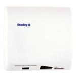 Bradley Corporation - 2902-28 Aerix Hand Dryer, Adjustable Speed, Universal Voltage - White Porcelain