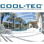 Textured Coatings of America, Inc. - COOL-TEC™ Heat-Reflective Concrete and Wood Deck Coating