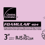 Owens Corning - Ballasted PRMA / Concrete Deck Insulation