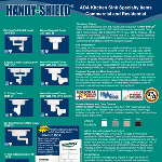 Plumberex Specialty Products, Inc. - Handy-Shield® ADA Kitchen Sink Specialty Items - Commercial / Residential