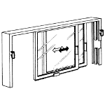 Nissen & Company, Inc. - Sliding Service Windows - Series BP & BPS Windows