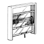 Nissen & Company, Inc. - Sliding Service Windows - Series CS (with Screens)