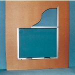 Nissen & Company, Inc. - Sliding Service Windows - Series D Windows