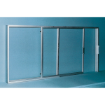 Nissen & Company, Inc. - Sliding Service Windows - Series EI Insulated Glass