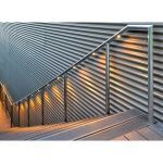Hollaender® Mfg. Co. - Interna-Light™ Illuminated Stainless Steel Railing