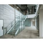 Hollaender® Mfg. Co. - Interna-Rail® KLEAR Aluminum Railing for Glass Infill Panels
