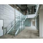 Hollaender® Mfg. Co. - Interna-Rail® KLEAR Aluminum Railing for Glass Infill Panels