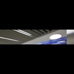 ROCKFON - Rockfon Intaline™ Round Base Metal Baffle Ceilings