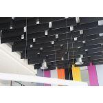 Rockfon - Rockfon® Multiflex™ Fibral Acoustical Ceiling Baffles Black