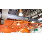 Rockfon - Rockfon® CurvGrid™ One-directional Curved Ceiling System