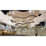 Rockfon - Rockfon® CurvGrid™ Two-directional Curved Ceiling System