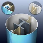 Petersen Aluminum Corporation - PAC-1000R Column Cover