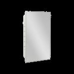 Seachrome Corporation - Recessed Medicine Cabinet with Six Adjustable Plastic Shelves