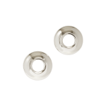 "Seachrome Corporation - Shower Rod Concealed Flange And Bracket Set For 1"" Shower Rod"