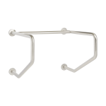 Seachrome Corporation - Wall-To-Wall Straddle Grab Bar