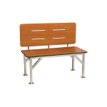 Seachrome Corporation - Stationary Bench Seat With Backrest