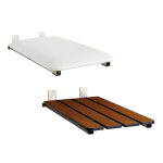 Seachrome Corporation - Tub Seat – End-Mounted With Frame