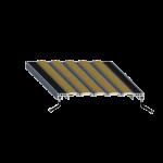 Balco, Inc - FMR Recessed Roll-Up with Carpet Tread - fmr vinyl hinge-FMR-C-AAF