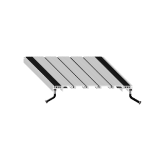 Balco, Inc - FMR Recessed Roll-Up with Serrated Tread - fmr vinyl hinge