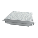 """Balco, Inc - ACD 1/2"""" Trench with Diamond Plate - access cover with diamond plate"""