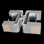 Balco, Inc - MetaFlex® 2000 2 Hour Wall Fire Barrier - 2HWFB-15 (10 Inch Joint)