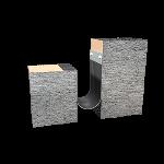 Balco, Inc - MetaMat™ 2 Hour Floor Fire Barrier - MFV2H-3-50% Floor to Wall