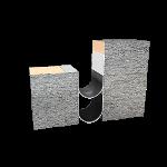 Balco, Inc - MetaMat™ 2 Hour Floor Fire Barrier - MFV2H-4-33% Floor to Wall