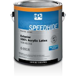 PPG PAINTS™ - SPEEDHIDE® Exterior 100% Acrylic Latex Semi-Gloss Paint