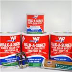 Wooster Products, Inc - Walk-A-Sured Clear and Roll-On Epoxy Floor Coating
