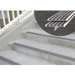Wooster Products, Inc. - Extruded Aluminum Products - Supergrit® Nosings/Warning Strips