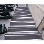 Wooster Products, Inc. - Extruded Aluminum Products - Flexmaster® Safety Renovation Treads