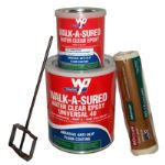 Wooster Products, Inc. - Anti-Slip Coatings - Walk-A-Sured® Clear Epoxy