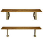 Art Metal Products, Inc. - LOCKER ACCESSORIES - BENCHES AND PEDESTALS