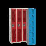 Art Metal Products, Inc. - HEAVY-DUTY VENTILATED (HDV) KD WARDROBE & BOX LOCKERS